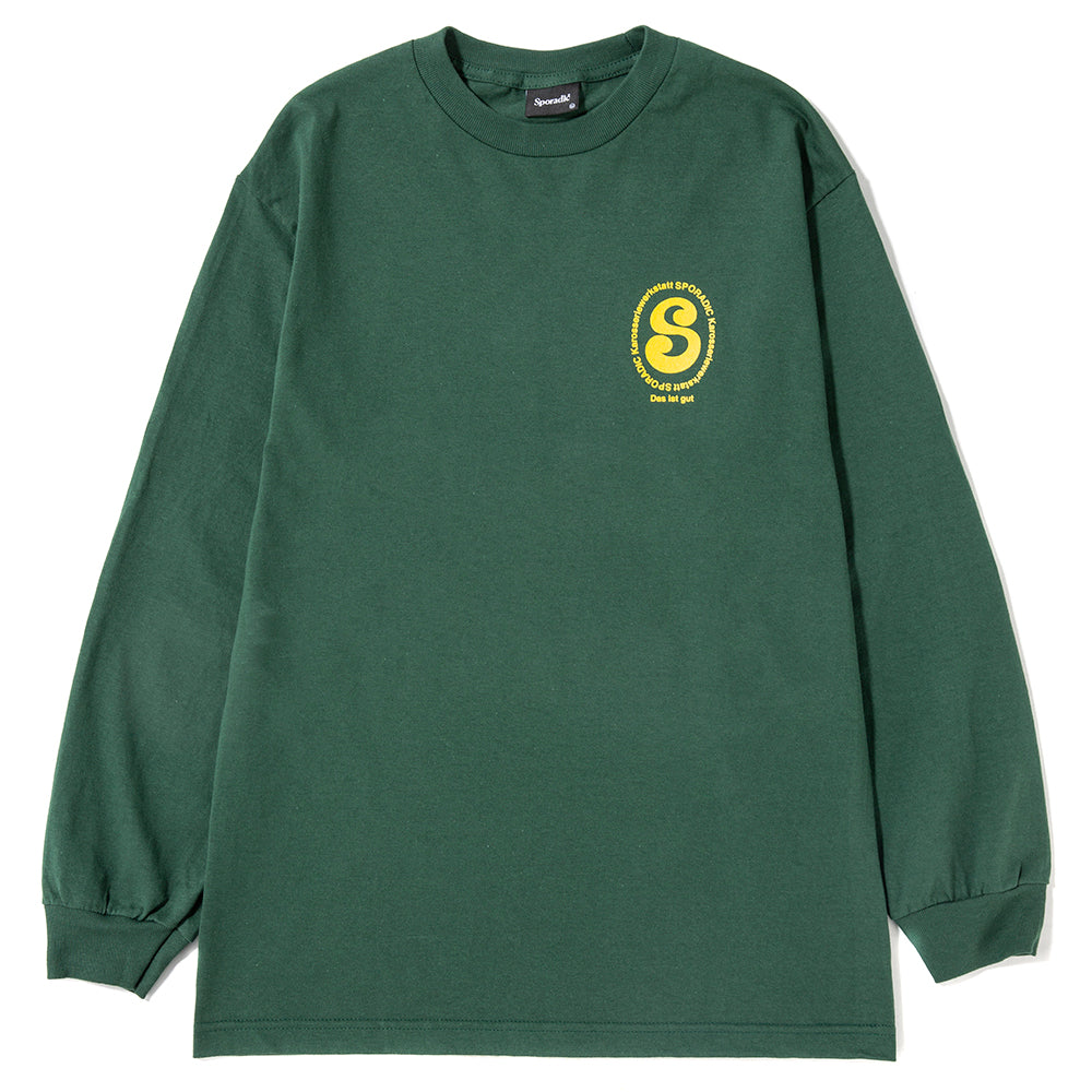 Sporadic Tribe Long Sleeve T-shirt / Forest
