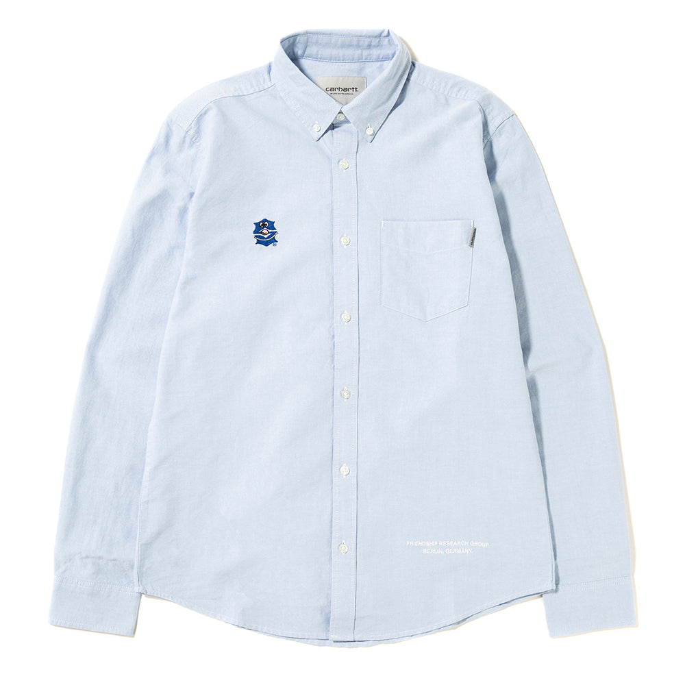 Sporadic FRG Oxford Button Up / Blue
