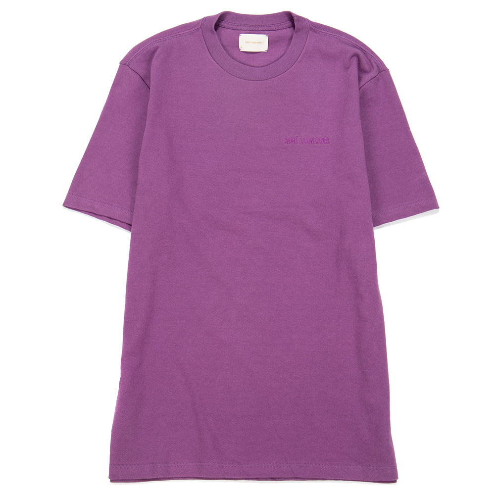 SS19CT00C Aimé Leon Dore Logo T-shirt / Purple Tape