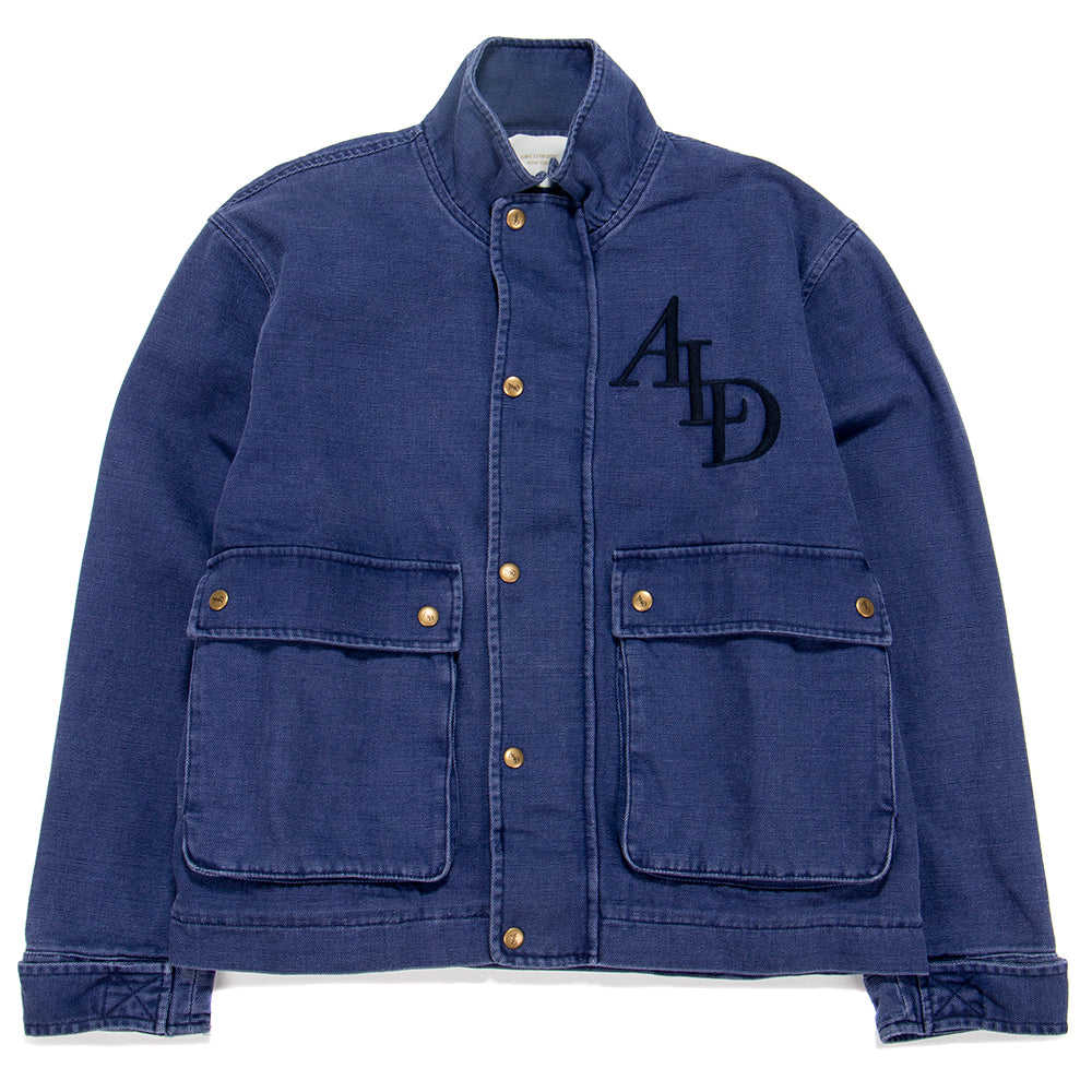 SS19WJ001B Aimè Leon Dore Canvas Work Jacket / Washed Midnight