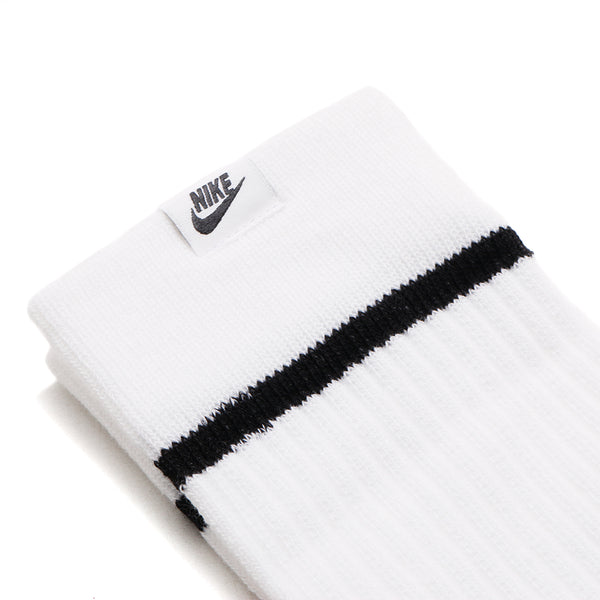 SX7166-100 Nike Sneaker Sox Essential Crew Socks / White