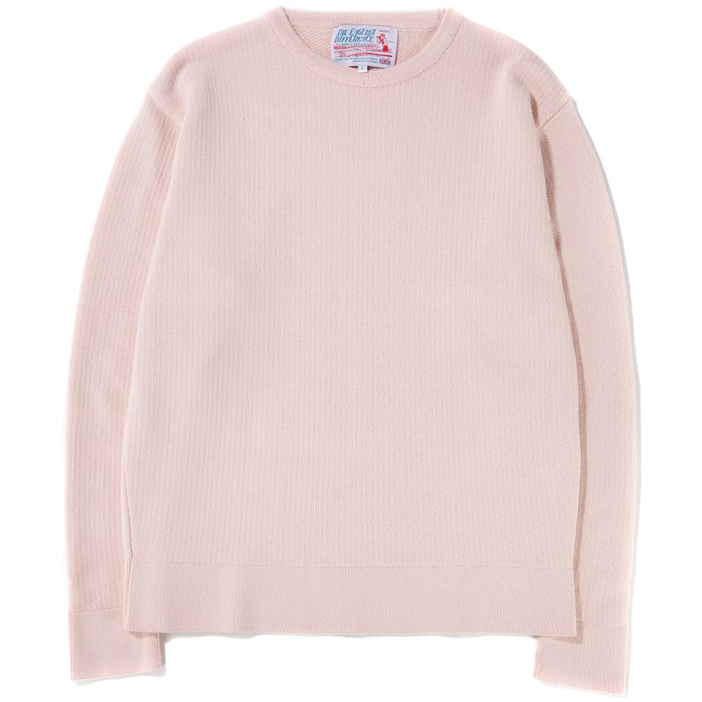 Style code TEDCREWGYSESI. GARBSTORE THE ENGLISH DIFFERENCE CREWNECK / PINK