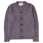 Style code TEDREVCARDIMEDRMLT. Garbstore The English Difference Cover Cardigan / Multi