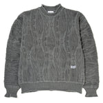 thisisneverthat Overdyed Knit Sweater / Charcoal