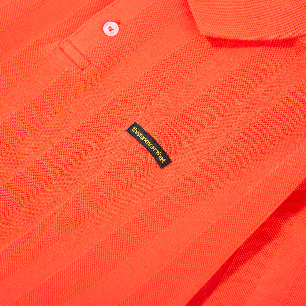 thisisneverthat Jacquard Jersey Polo / Pink