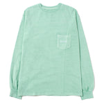 thisisneverthat Overdyed Pocket Long Sleeve T-shirt / Mint - Deadstock.ca