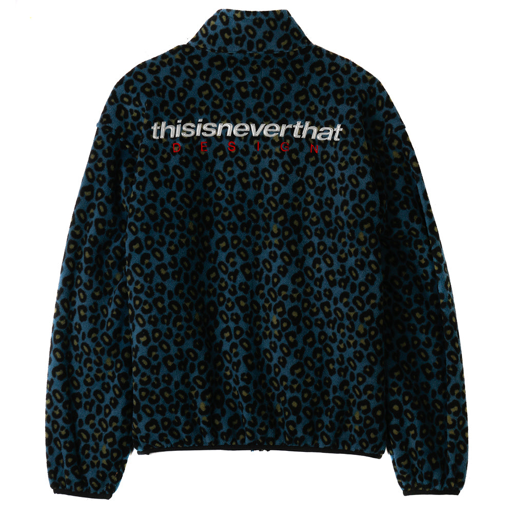 thisisneverthat DSN Fleece Jacket / Blue Leopard