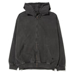 thisisneverthat DSN Logo Zip Up Hoodie / Charcoal