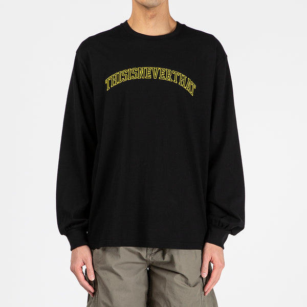thisisneverthat ARC-Logo Long Sleeve T-shirt / Black