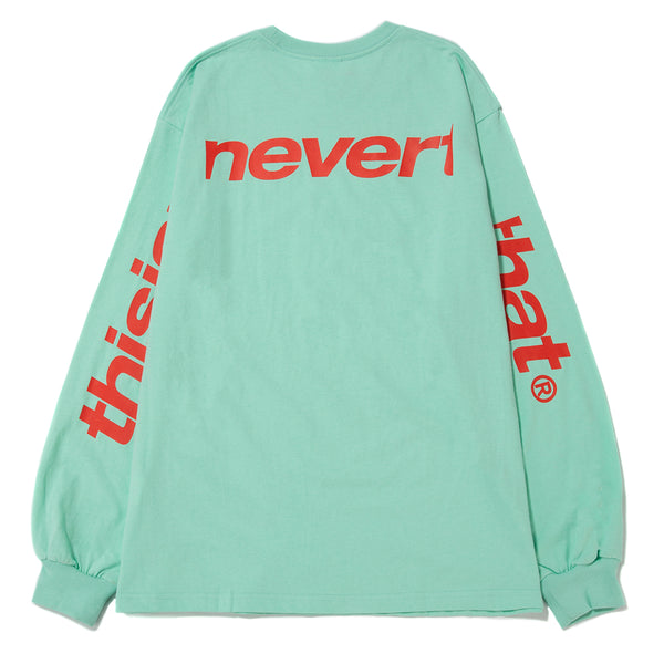 thisisneverthat SP-3 Long Sleeve T-shirt / Mint