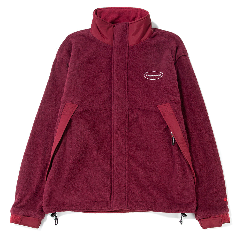 thisisneverthat Polartec Fleece Jacket / Burgundy