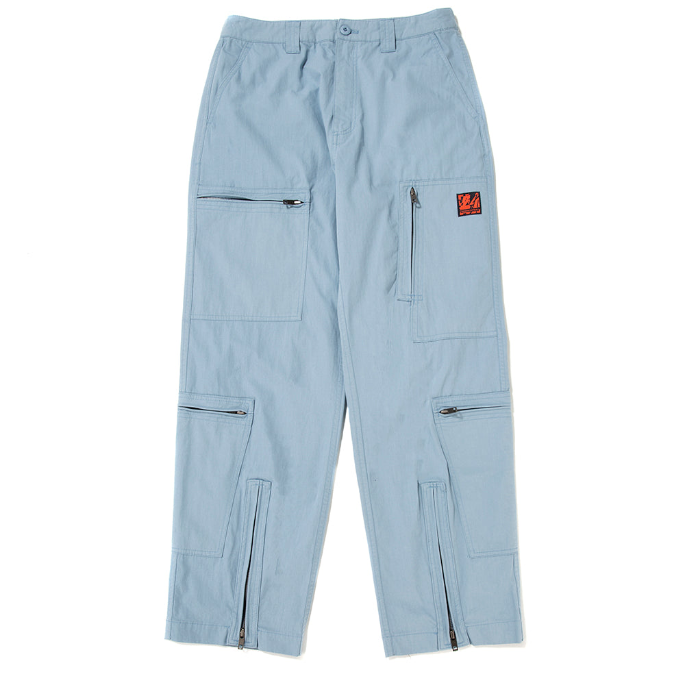 thisisneverthat Zip Flight Pant / Light Blue