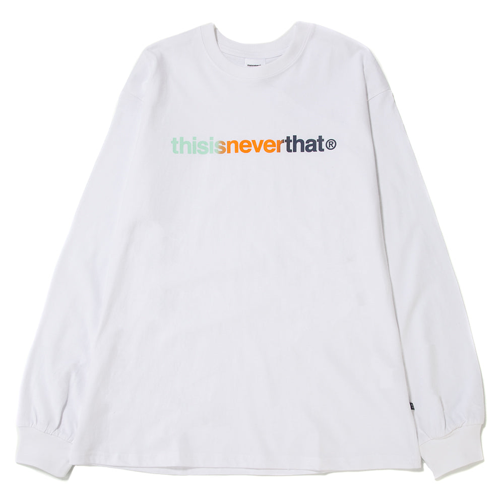 thisisneverthat T-Logo Long Sleeve T-shirt / White