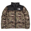 The North Face 1996 Retro Nuptse Jacket / Burnt Olive Green Digi Camo