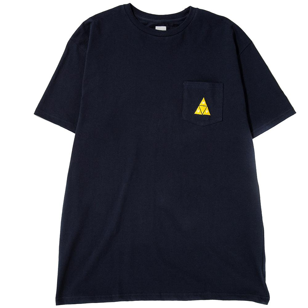 HUF TT Pocket T-Shirt / Navy