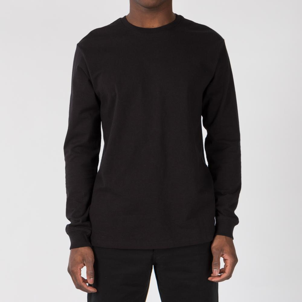 HUF X FELIX THE CAT SANTEE LONG SLEEVE T-SHIRT / BLACK