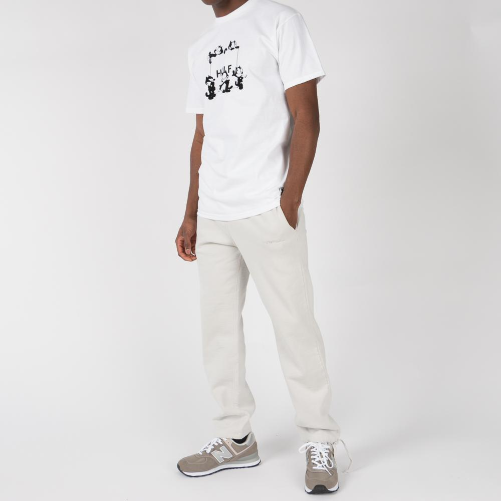 HUF X FELIX THE CAT BOX LOGO T-SHIRT / WHITE