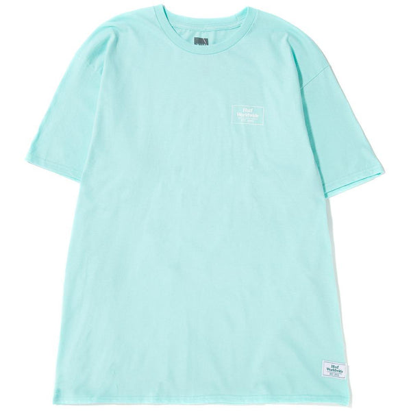 Style code TS00556MNT. Huf Smokers Lounge Strains T-shirt / Mint