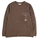Satta Yin Long Sleeve T-shirt / Charcoal - Deadstock.ca