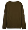 Satta Sol O Moon Long Sleeve T-shirt / Charcoal