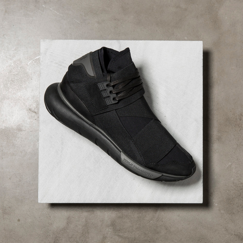 Y-3 QASA HIGH / CORE BLACK