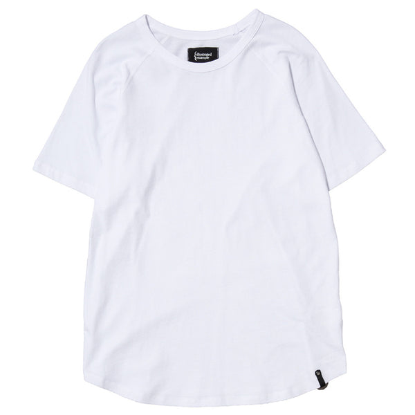 RAGLAN T-SHIRT / WHITE SUPIMA
