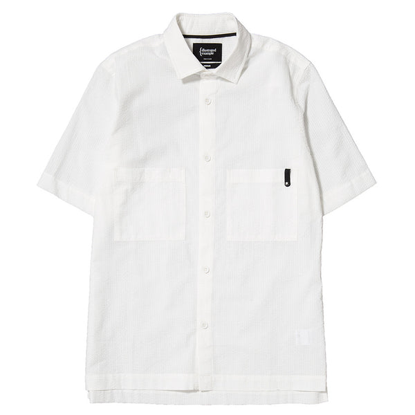 SS SEERSUCKER SHIRT / WHITE