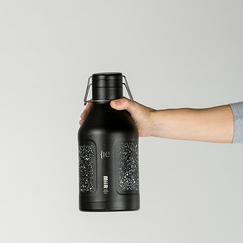 {ie x MiiR GROWLER 64oz / FLECK FINISH BLACK