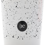 {ie x MiiR PINT CUP 16oz / FLECK FINISH WHITE