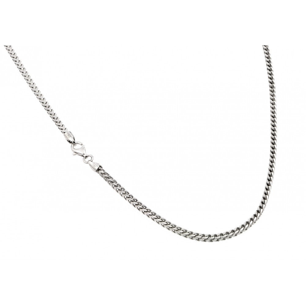 "SILVER FRANCO CHAIN 30"" LENGTH 1.45MM"