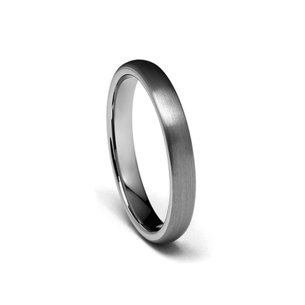 TUNGSTEN CARBIDE 4MM DOMED RING