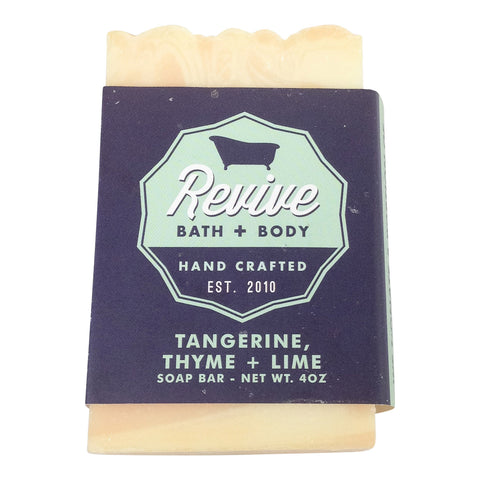 Tangerine Thyme & Lime Soap