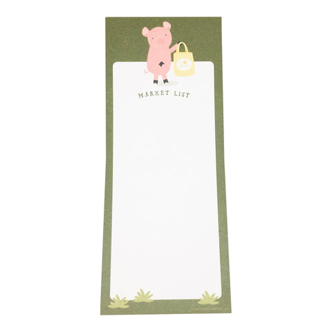 Little Piggy Shopping Notepad