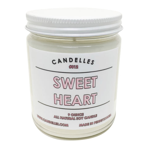 Sweet Heart Candle
