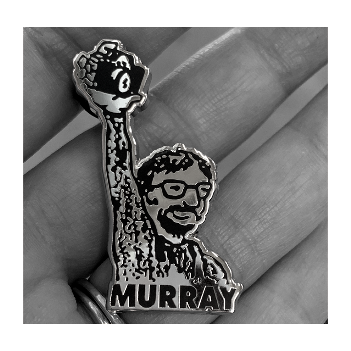 Murray Bowles 'King of the Bay' Pin