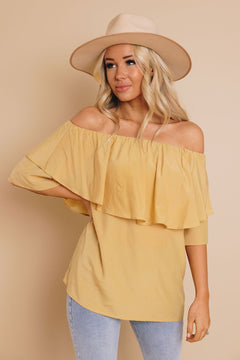 Energy Off The Shoulder Top