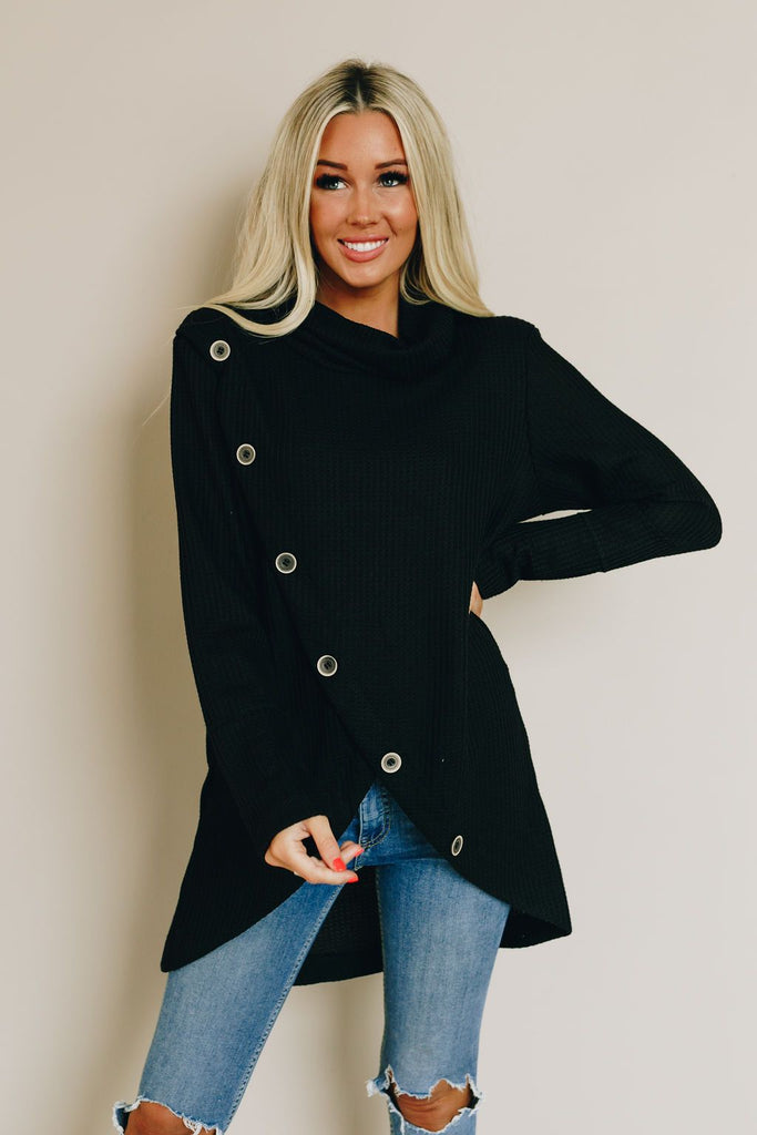 Before You Go Button Sweater