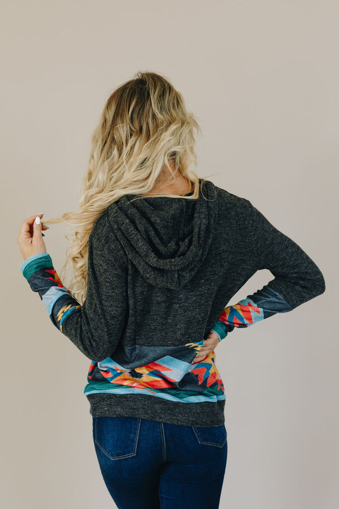 Wander the Wild Color Block Pullover