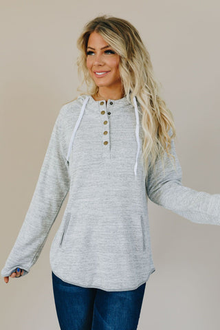 Over It Twisted Long Sleeve Blouse