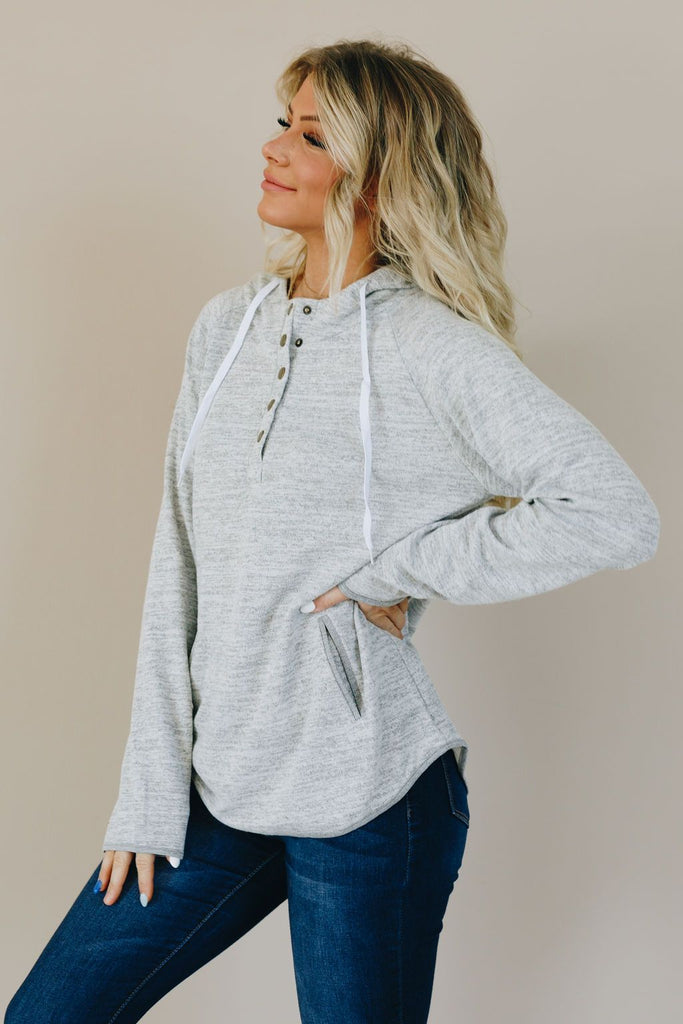 All Tied Up Drawstring Hoodie