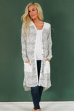 Run Along Patterned Cardigan
