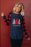 Merry Christmass Tree Tee