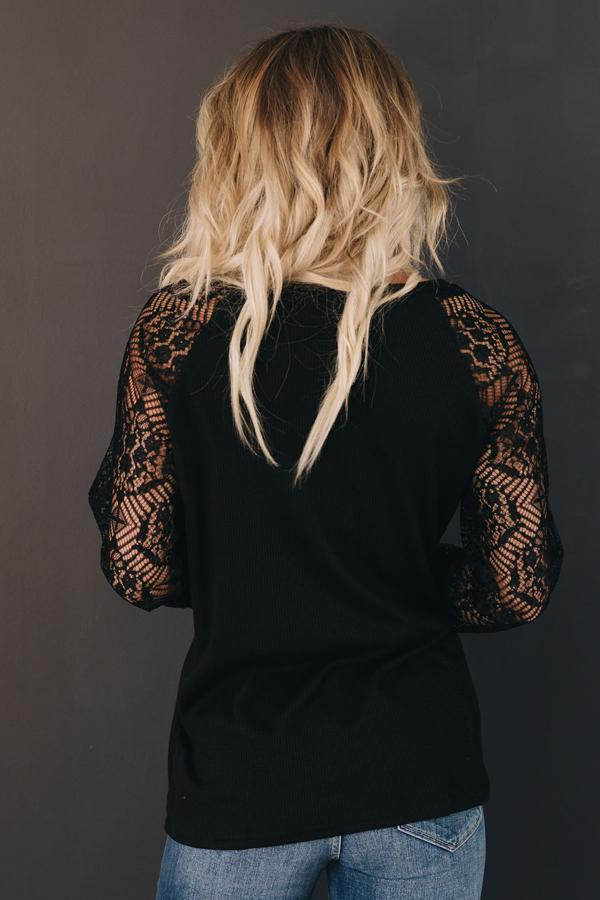 Gilmore Lace Long Sleeve Top