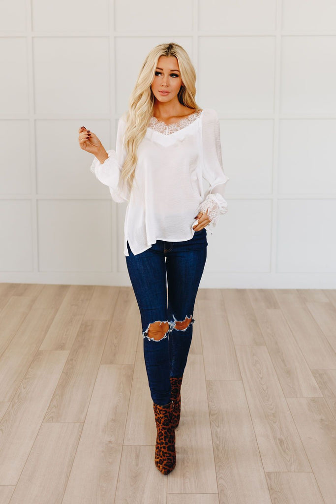 The Morning View Lace Blouse