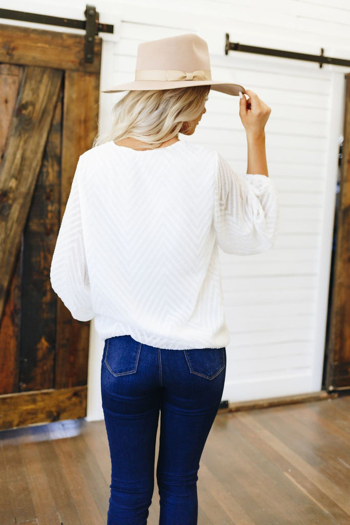 Great Escape Textured Top