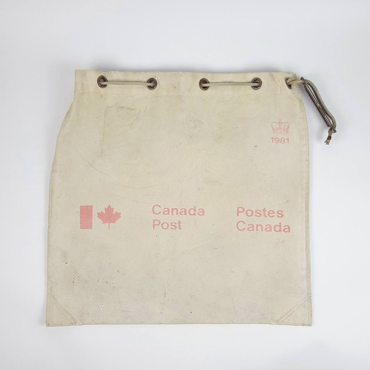 1981 Canada Post Mail Bag - www.kanahta.com - 1
