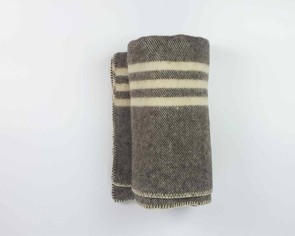 Wool Blanket | Soft Brown - www.kanahta.com - 2
