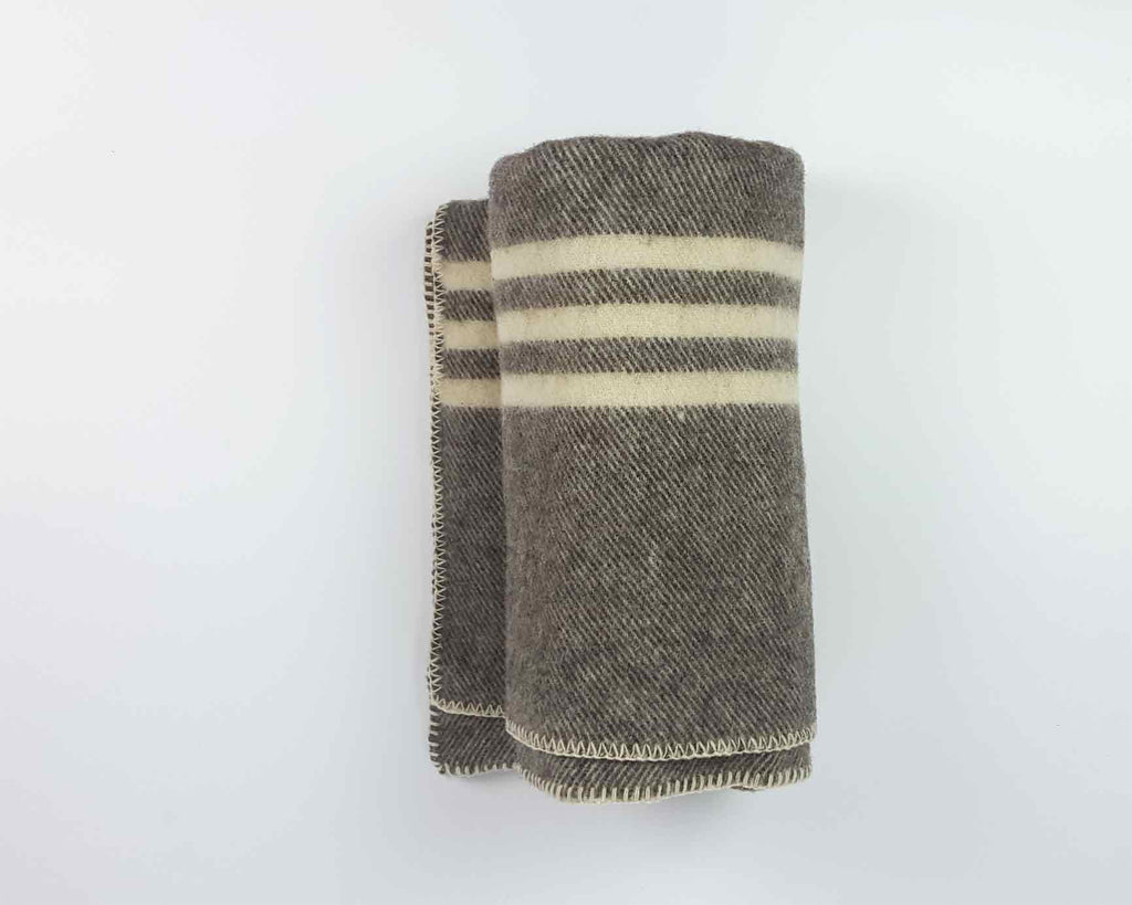 Wool Blanket | Dark Grey