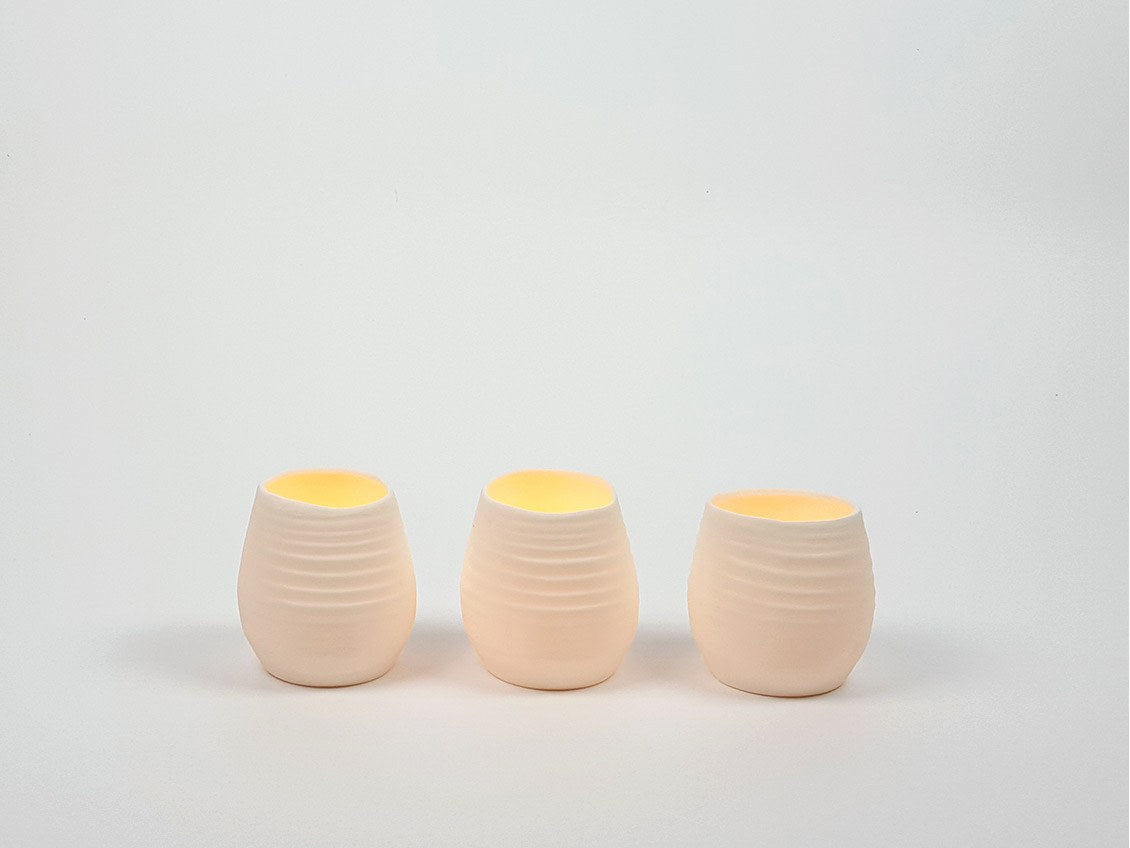Porcelain Lanterns | Set of Three - www.kanahta.com - 1