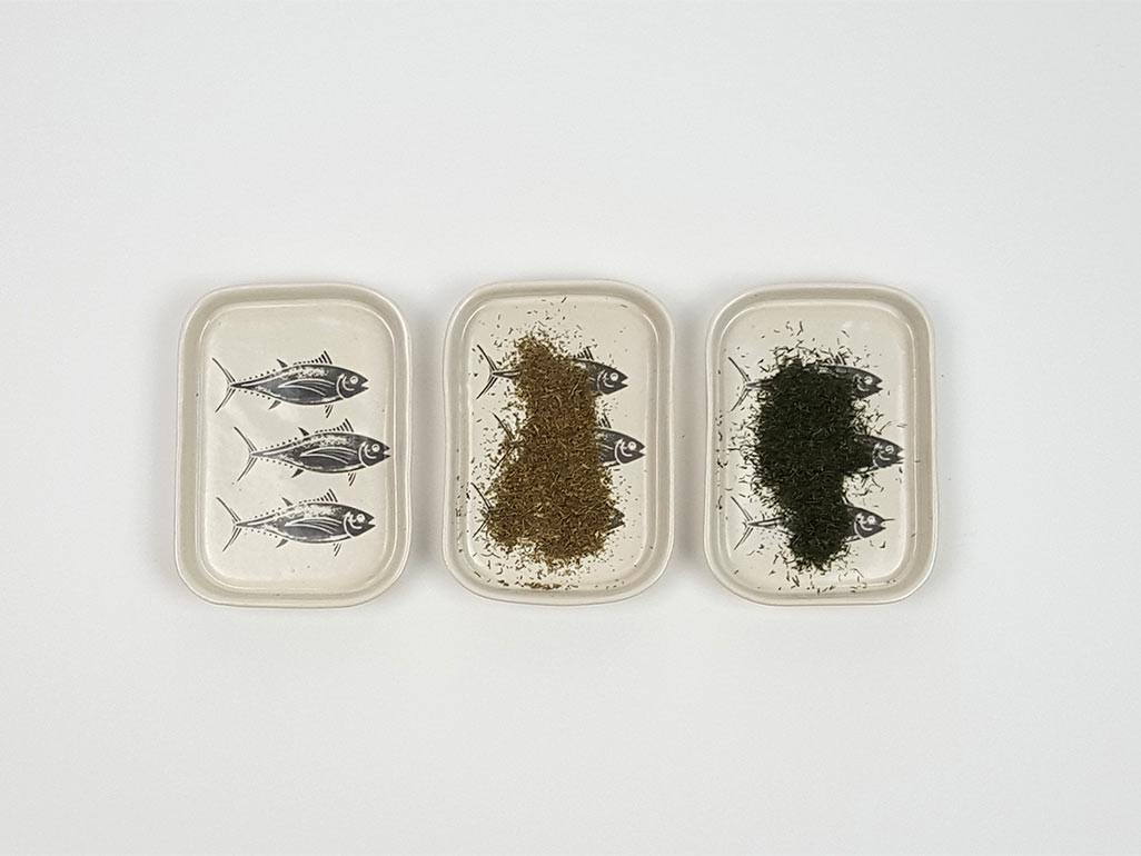 Triple Fish Trays - www.kanahta.com - 1